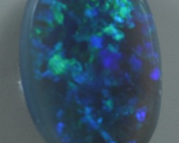 Solid  Black Opal(168) from Lightning Rodge