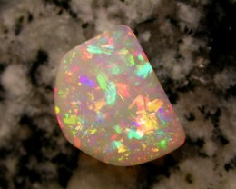 3.83ct HIGHEST QUALITY FULLY SATURATED EXTR BRIGHT BRAZILIAN OPAL