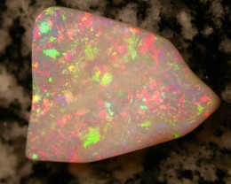 12.06ct HIGH QUALITY FULLY SATURATED EXTREEM BRIGHT BRAZILIAN OPAL