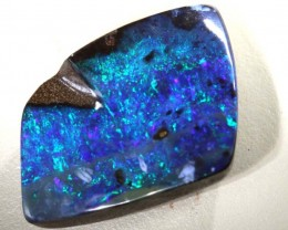 19 CTS GEM  QUALITY  BOULDER OPAL POLISHED STONE INV-533  GC