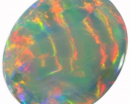 4.35  CTS SEMI BLACK  OPAL - LIGHTNING RIDGE- [SO8203]