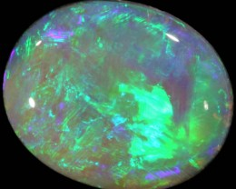 8.3 CTS BLACK CRYSTAL OPAL - LIGHTNING RIDGE- [SO8205]
