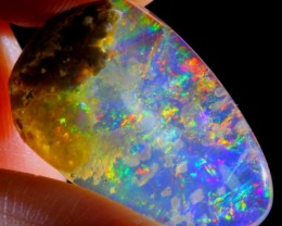 6.03Ct ContraLuz Fire Ethiopian Welo Crystal Opal