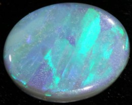 1.84 CTS SOLID SEMI  BLACK OPAL LIGHTNING RIDGE [SB9]