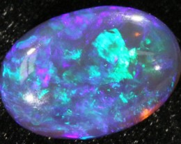2.06 CTS BLACK CRYSTAL OPAL FROM LIGHTNING RIDGE[BC7 ]