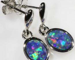 Modern design Opal Doublet Earring CF809
