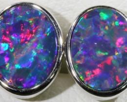 Modern design Opal Doublet Earring CF 814