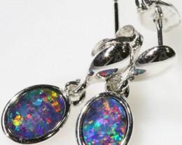 Modern design Opal Doublet Earring CF 816