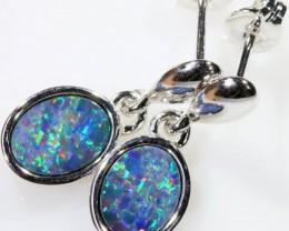 Modern design Opal Doublet Earring CF 817