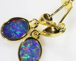 Modern design Opal Doublet Earring CF 819