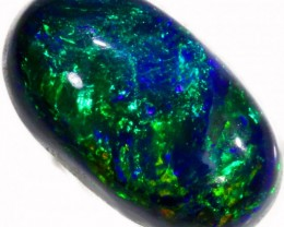 0.71 CTS BLACK  OPAL - LIGHTNING RIDGE- [SOB17]
