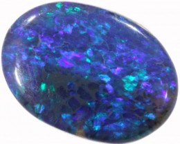 1.73 CTS BLACK  OPAL - LIGHTNING RIDGE- [SOB24]