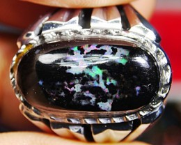 48.45 CRT (WITH RING) WOOD FOSSIL POLISHED BANTEN INDONESIAN OPAL