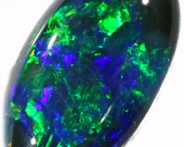 1.07 CTS BLACK  OPAL - LIGHTNING RIDGE- [SOB34]