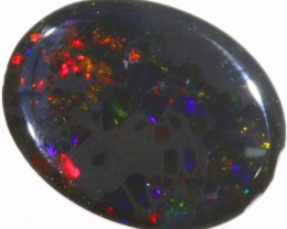 1.8 CTS BLACK  OPAL - LIGHTNING RIDGE- [SOB57]
