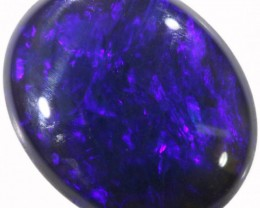 1.40 CTS BLACK  OPAL - LIGHTNING RIDGE- [SOB64]2