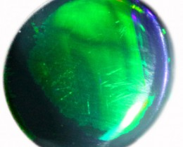 0.60 CTS BLACK  OPAL - LIGHTNING RIDGE- [SOB75]