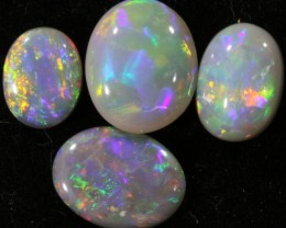 2.65 CTS PARCEL OF CRYSTAL OPALS - LIGHTNING RIDGE[SCO50 ]