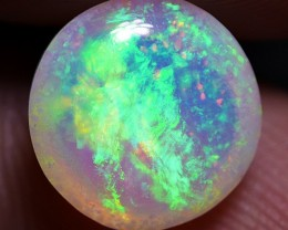 STUNNING ROUND NEON FLASH FLORAL PATTERN WELO OPAL 2.10 CRT