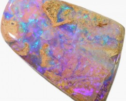 22.3 CTS 3D EFFECT PIPE BOULDER OPAL STONE   [BMA4277]