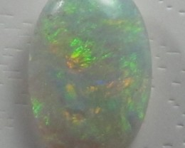 Solid Semi-Crystal(194) Opal from Lightning Ridge,4 ct