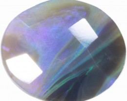 5 CTS FACETED BLACK OPAL [BF12]