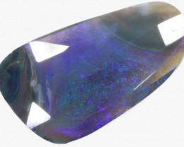 17 CTS FACETED BLACK OPAL [BF18]