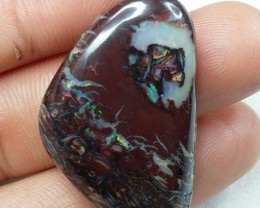 51.35 CT VIEW AMAZING COLOURS AND PATTERN KOROIT BOULDER OPAL  SS0679