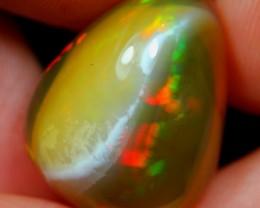 22.05Ct Rainbow Phantom Ghost Ethiopian Welo Specimen Crystal Opal