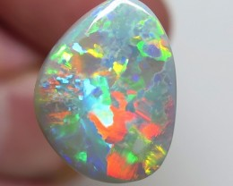 4.83Ct Lightning Ridge Black Opal stone