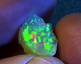 3.25 cts Ethiopian Welo CHAFF PINFIRE opal N6 4,5/5