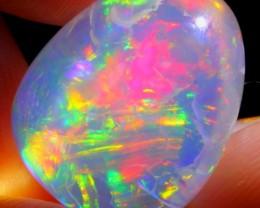 12.57Ct ContraLuz Colour Ethiopian Welo Specimen Crystal Opal