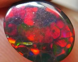 Smoked Ethiopian Honeycomb Rainbow Opal 1.45 Crt