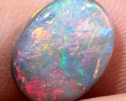Double Sided 3.6ct Natural Lightning Ridge Dark Opal [RRP-001]