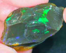 45Ct Beautiful Untreated Dark Ethiopian Welo Rough Specimen Rough Opal
