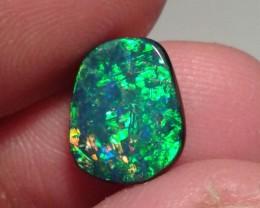 12x9 mm, 3 ct Australian Opal Doublet