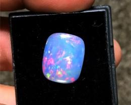 4.15 Carat Ethiopian Welo Opal - Flashy Rainbow Pattern