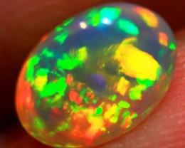 Brilliant 5/5 Ethiopian Wello Opal ~ cts.1.0    RC163