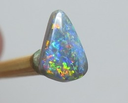 0.75Ct Lightning Ridge Black Opal stone