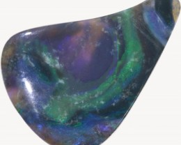 3.35 CTS BLACK OPAL SCULPTURE CARVING - LIGHTNING RIDGE- [SOB162]