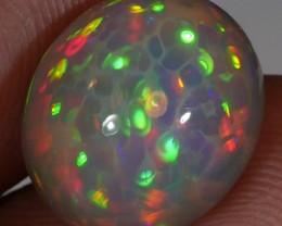 Brilliant Natural Dark Honeycomb Opal 5.60 CT