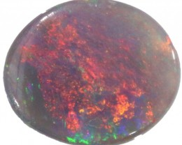 0.45 CTS SEMI BLACK OPAL -TOP POLISH -[BO106]