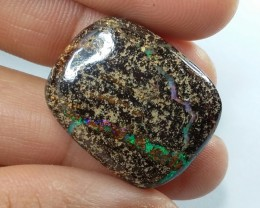 30CT DOUBLE SIDED QUEENSLAND BOULDER OPAL  SS0856