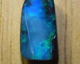 2.75 ct Boulder Opal Natural Blue Green