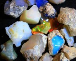 NR Parcel  Rough Wello Opal    cts 89.80   RC 364    15 stones