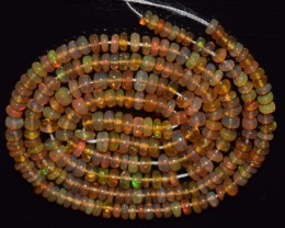 29.40 Ct Natural Ethiopian Welo Opal Beads Play Of Color
