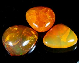 108Ct / 3Pcs Ethiopian Welo Polished Specimen Opal