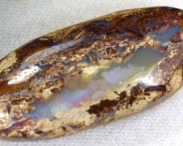 30 CTS BOULDER WOOD FOSSIL OPAL STONES   NC-4746