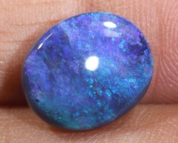 4.65 CTS   N-2   SOLID BLACK OPAL   TBO-6086
