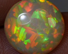 Top gems very nice pattern round shape welo opal 3.0 CT